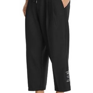 VERSACE JEAN COUTURE Cropped Twill Pants